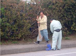 2018年度・県道清掃